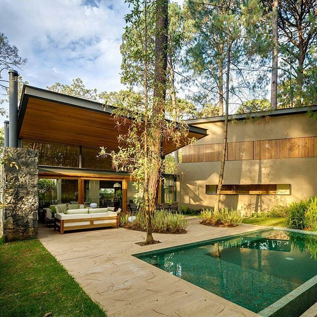 Follow @design.it.now for more design, lighting, and architecture!  __________  Pictured here: Five Houses Project designed by Weber Architects  __________  #mexico #usa #canada #rich #luxury #luxuryhomes #design #modern #outdoordesign #design #landscapedesign #landscape #architecture #usa #light #tree #landscapearchitecture #architexture #buildings #archilovers #hardscape #lines #instahome #instapic #interiordesign #realestate #building #city