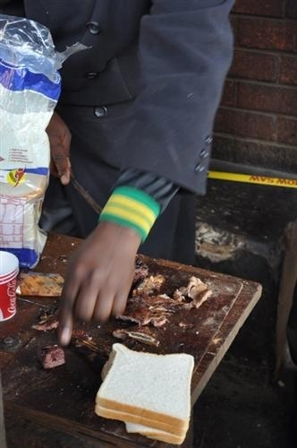 Shisa Nyama ... tradition african street food ... An intimate meal in a public place. african-food