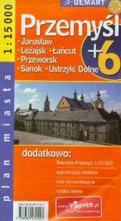 Poland City Map Przemysl + 6 Other Cities: Jaroslaw, Lezajsk, Lancut, Przeworsk, Sanok, Ustrzyki Dolne . $9.95. Publisher: Demart