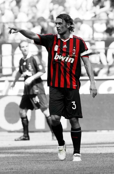 One of Football's greatest. Paolo Maldini of Milan
