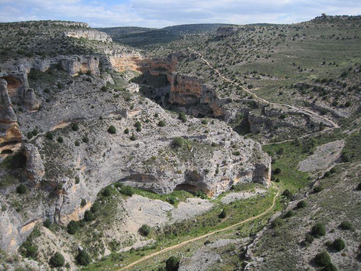 """Camino de los Pinturas Rupestres """"Roca Benedí"""" -Barranco de la Hoz Seca- (Jaraba)"""