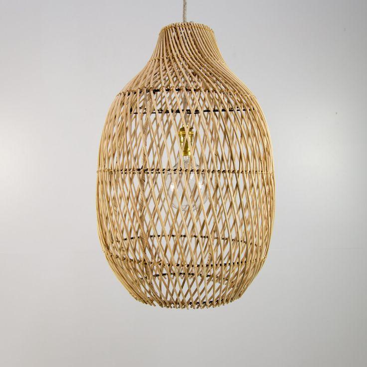 Living Room - Hand Woven Rattan Pendant