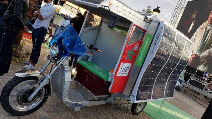 Ce triporteur frigorifique est à 100% solaire et 100% marocain