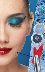 "Something Blue..  Brilliant and rich. Tampil elegan dengan ""IT"" colour season ini. Padukan riasan blue smoky eyes dari koleksi Colour Crush dengan bold lipstick bernuansa merah."