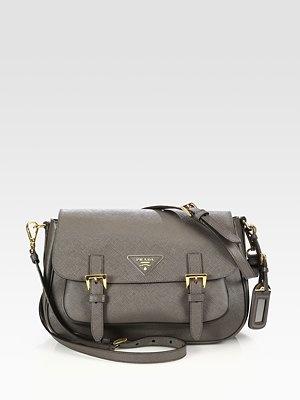 Prada Saffiano Lux Messenger Bag