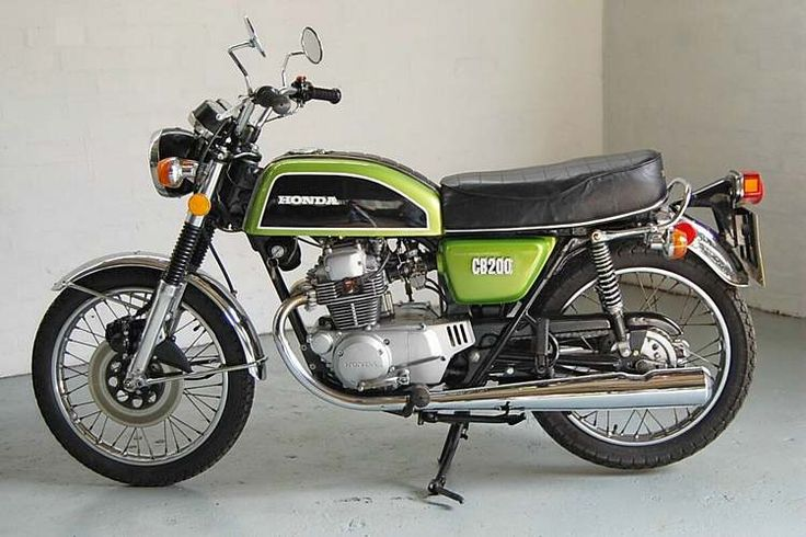 Beautifully restored Factory CB200T