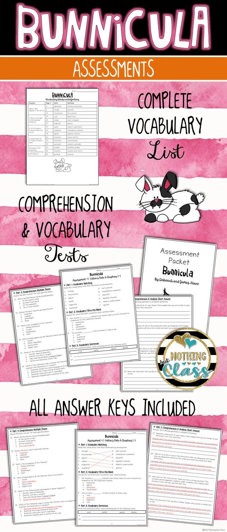 Bunnicula Lesson Plan | Study.com