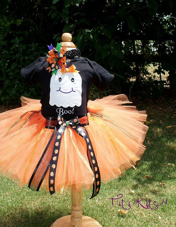 ghost costume :): Ghost Costumes, Ghosts Costumes, Halloween Costumes, Tutu, Halloween Shirt, Pumpkin Outfit