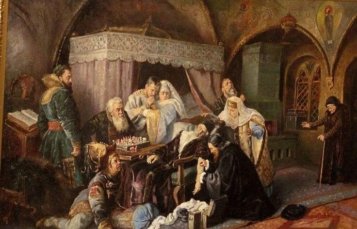 МАКОВСКИЙ Константин Егорович (1839-1915)«Смерть Ивана Грозного». 1888 г.