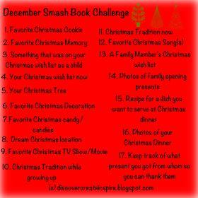 Discover. Create. Inspire. : December Smash Book Challenge