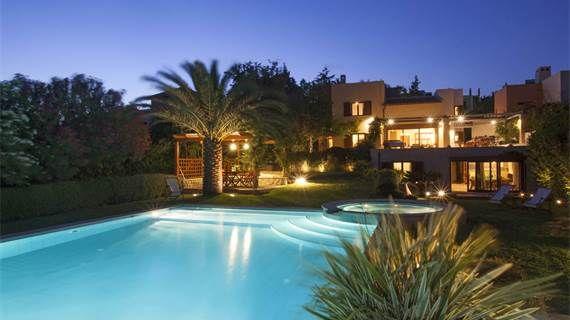 Villa Valli in #Greece #holidayrental #luxurytravel