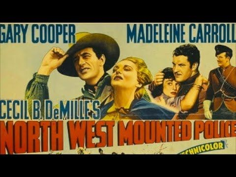 North West Mounted Police (1940) Gary Cooper, Madeleine Carroll, Paulett...