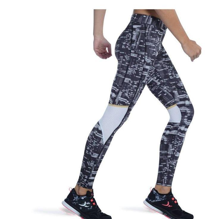 Fitnesz gépek, kardió ruházat Ruházat - ENERGY XTREM női legging DOMYOS - Alsóruházat