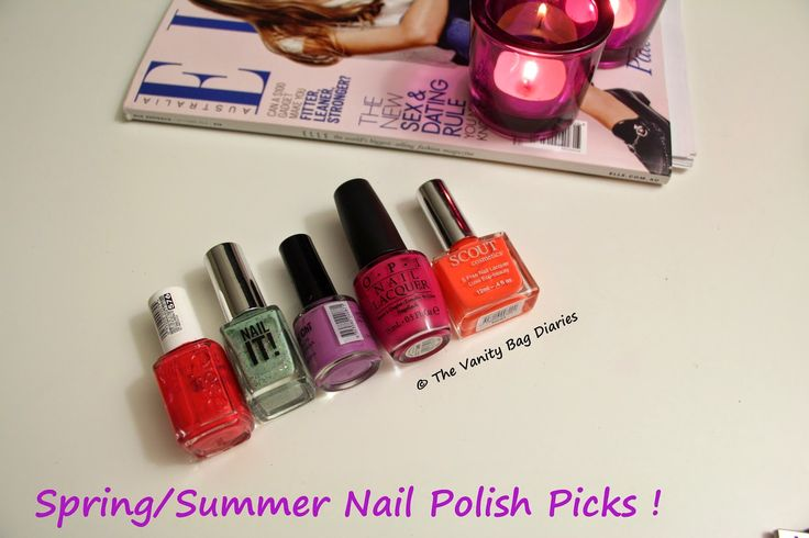 Following up with my last post of Spring/Summer Bright Lipstick Picks, in today's post I share with you 'My Spring/Summer Nail Polish Picks'. Essie Enuff is Enuff - This has to be my favorite of the lot. Enuff is Enuff is a beautiful coral shade. I have worn this loads this season. I love this shad