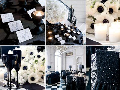 66 best Black and White Wedding images on Pinterest Marriage
