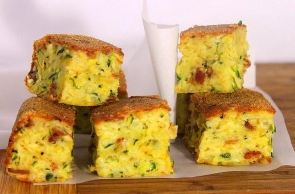 Easy Appetizer: Mini Zucchini, Bacon and Cheese Bites - Foodista.com