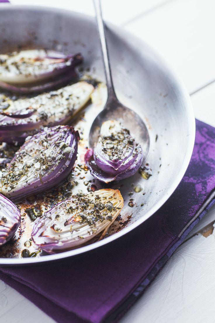 Cipolle di Tropea al forno: tutto il gusto della Calabria in un contorno davvero gustoso!  [Baked Tropea onion]