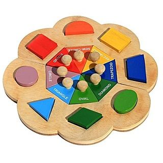 Name a Shape Flower $32.95  #toys #kids #sweetcreations #babies #toddlers #puzzles #games #educational