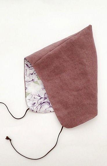 Handmade Linen Pixie Bonnet | moonroomkids on Etsy