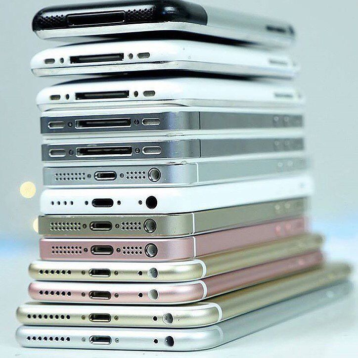 Which Apple iPhone series do you ever used in your entire life? I ever used the iPhone 2G iPhone5 and iPhone 6 how about you? Leave your answer down below  . Photo credit: phonerebel #techindo #technology #news #apple #iphone #iphone3g #iphone3gs #iphone4 #iphone4s #iphone5 #iphone5s #iphone6 #iphone6plus #iphone6s #iphone6splus #iphonese by tech_indo on Instagram https://goo.gl/9JYXYP