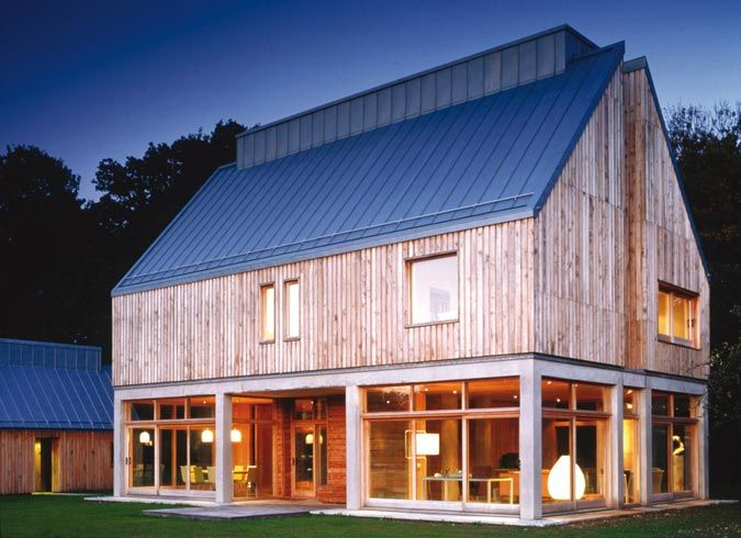 17 best ideas about modern barn house on pinterest for Barnhouse builders