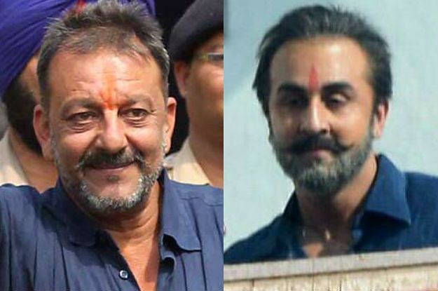 Here's Ranbir Kapoor's Uncannily Spot-On Look For Sanjay Dutt's Biopic