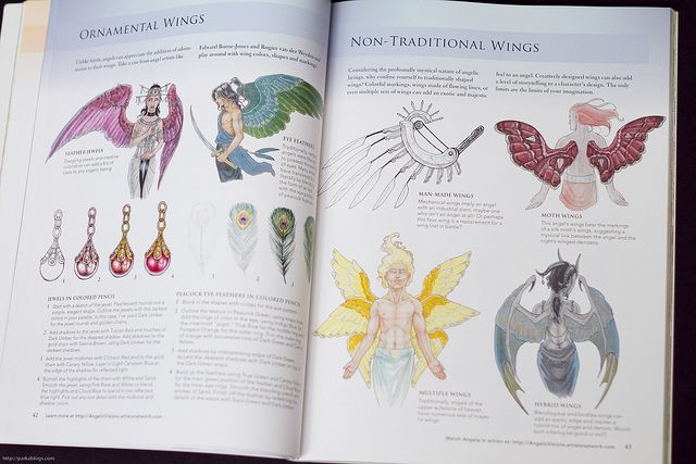 Check out my review for Angelic Visions: Create Fantasy Art Angels With Watercolor, Ink and Colored Pencil and the list of art books I've reviewed.   Please help. Trying to fund my new Studio at: ttp://www.gofundme.com/5uisuk Or visit my FB art page at: https://www.facebook.com/pages/Dark-Muse-Studios/437303159705185