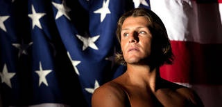Team USA men's water polo player Tony Azevedo