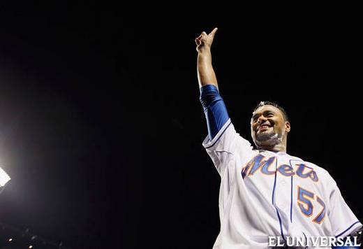 Johan Santana, lanzo el primer no hit no run de los Mets, El Universal - EL UNIVERSAL