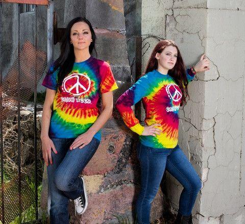 Reactive Tie Dye T-Shirt – Enjoy Weed Shack EnjoyWeed.com