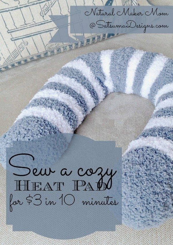 Fill a pair of hose with dried beans, cover them in cheap fuzzy socks, and sew everything together for a relaxing heating pad. | 42 Dollar Store Tricks Every Broke Person Should Know