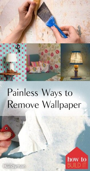 66383 best home yard images on pinterest craft party for Home wallpaper removal tips