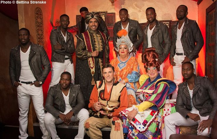 Flawless perform in Aladdin pantomime at New Wimbledon Theatre [#Christmas dates]