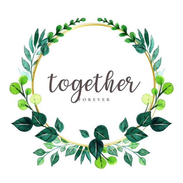 Download Watercolor Leaves Wreath For Free Watercolor Leaves