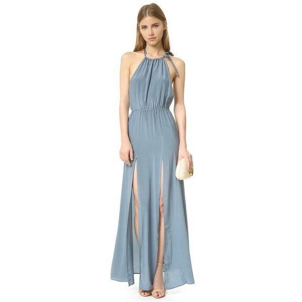 stone cold fox onyx gown kleider blau weiss