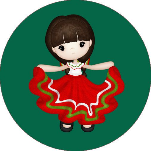 Kit De Fiesta Mexicano Pintura En Tela Mexican Fiesta Mexican