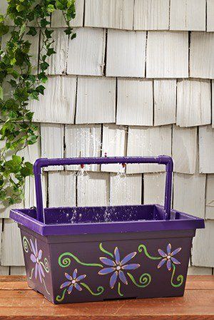 Hummingbirds can have difficulty using traditional bird baths. Create a hummingbird mister instead to give these little jewels a place to bathe and play.
