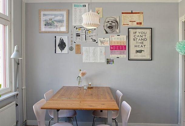 Zdjęcie: galeria na ścianie w jadalni
