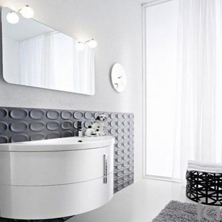 Moon #Modular_Baths & #Laundry_Areas by #ideagroup .Showroom open 7 days a week. #fcilondon #furniture_showroom_london #furniture_stores_london #ideagroup_bathroom #modern_bathroom #100design @designlondon