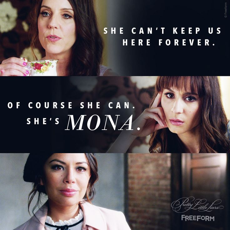 Pretty Little Liars quotes, Mona, Mary Drake, evil twin Alex Drake, 'Til Death Do Us Part, series finale, 7x20, A.D. reveal, #PLL