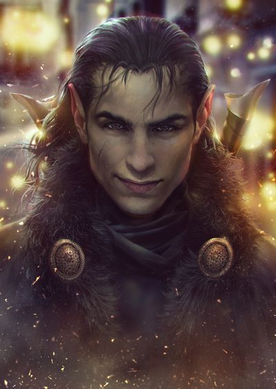 Photo Manipulation - Mikandi✿ Vax'ildan, also known as Vax, is a Half-Elf rogue and member of Vox Machina.