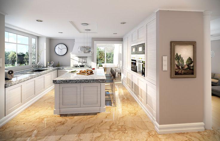 Wnętrze projektu Willa Anna Maria - #kuchnia #kitchen