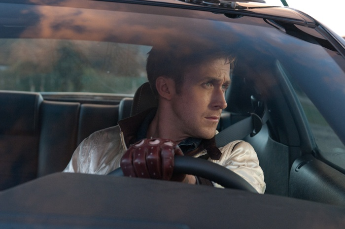 Ryan Gosling, Drive (2011).    Watched this movie last night. It is amazing.  AMAZING.  Love everything about it. The 80's feeling, the brilliant soundtrack by Kavinsky and the cinematography is stunning.