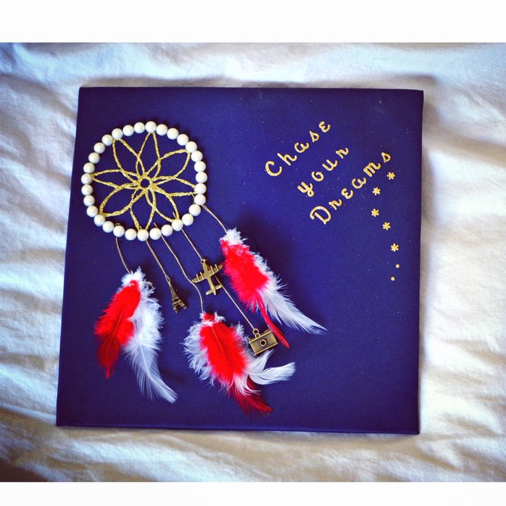 Graduation Cap Design, Dream Catcher | gift ideas ...