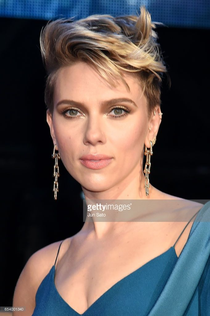 Scarlett Johansson attends the World Premiere of the Paramount Pictures release 'Ghost In The Shell' at TOHO Cinemas Shinjuku on March 16, 2017 in Tokyo, Japan.