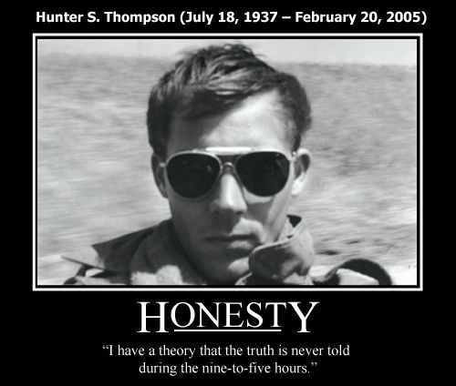 Have hunter s thompson fist excellent gymast and