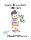 10 pages.Helpful tips for dealing with tattletales. Includes 3 posters.