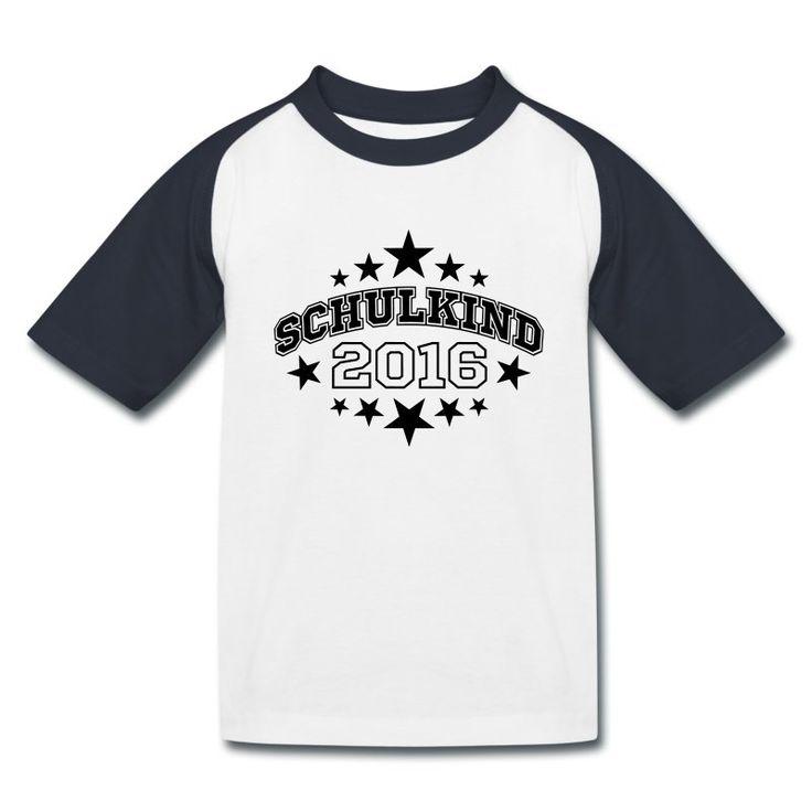 www.shirts4friends.com SCHULANFANG. Ein schönes Geschenk für den kleinen Schulanfänger: T-Shirt mit dem Motiv Schulkind 2017