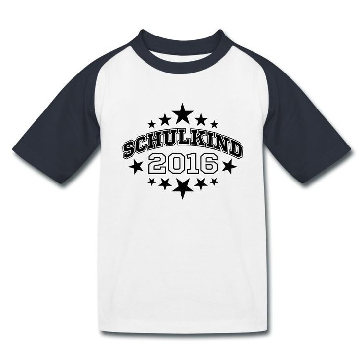 SCHULANFANG. Ein schönes Geschenk für den kleinen Schulanfänger: T-Shirt mit dem Motiv Schulkind 2016 (online bestellbar) http://shop.spreadshirt.de/Einschulung