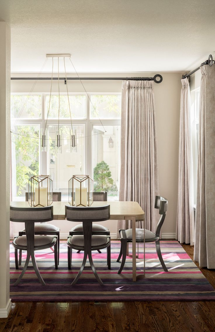 Soft Hues & Contemporary Furnishings in Denver | Duet Design Group Helps with a Cross-Country Relocation | Photo by David Lauer | Contemporary Dining Room | Dining Room Chandelier | Dining Room Design | Modern Sanctuary | Neutral Dining Room | Dining Room Inspiration | Interior Design Inspiration | Contemporary Interior Design | Home Tour | Beige Dining Room
